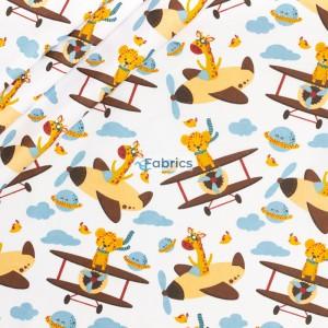 Żyrafy i tygrysy w samolotach